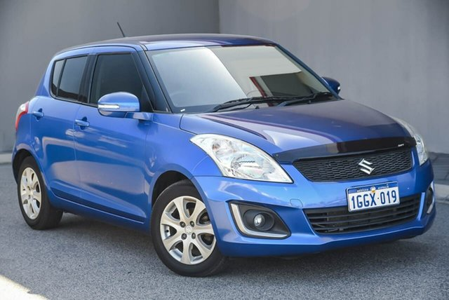 Used Suzuki Swift FZ MY15 GL Navigator Osborne Park, 2015 Suzuki Swift FZ MY15 GL Navigator Blue 4 Speed Automatic Hatchback