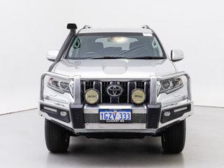 2017 Toyota Landcruiser Prado GDJ150R MY17 GXL (4x4) Silver 6 Speed Automatic Wagon.