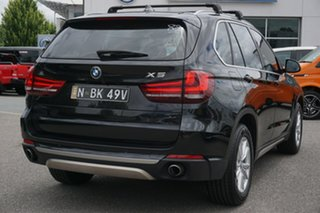 2015 BMW X5 F15 xDrive25d Black 8 Speed Automatic Wagon