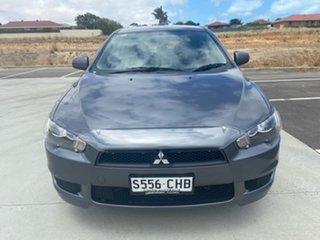 2011 Mitsubishi Lancer CJ MY11 ES Silver 6 Speed Constant Variable Sedan.