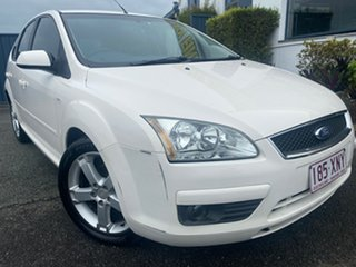 2006 Ford Focus LS Zetec White 4 Speed Sports Automatic Hatchback.