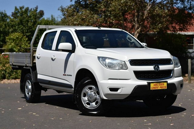 Used Holden Colorado RG MY16 LS Crew Cab Melrose Park, 2015 Holden Colorado RG MY16 LS Crew Cab White 6 Speed Manual Utility