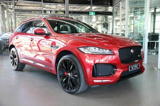 2017 Jaguar F-PACE X761 MY17 S Red 8 Speed Sports Automatic Wagon