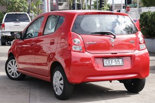 2012 Suzuki Alto GF GL Red 4 Speed Automatic Hatchback.