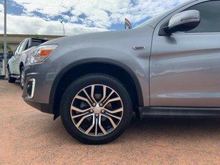 2016 Mitsubishi ASX XB MY15.5 LS (2WD) Grey Continuous Variable Wagon.
