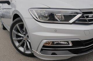 2017 Volkswagen Passat 3C (B8) MY17 132TSI DSG Comfortline Pyrite Silver/black 7 Speed.