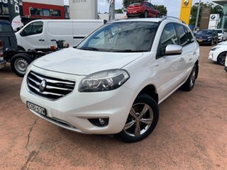 2013 Renault Koleos H45 Phase II Bose Special Edition White 1 Speed Constant Variable Wagon.