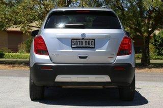 2015 Holden Trax TJ MY15 LTZ Silver 6 Speed Automatic Wagon