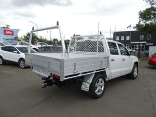 2016 Volkswagen Amarok 2H MY17 TDI420 4MOTION Perm Core Candy White 8 Speed Automatic Cab Chassis