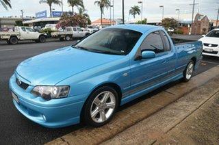 2005 Ford Falcon BA MkII XR6 Blue 4 Speed Auto Seq Sportshift Utility.