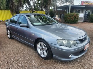 2005 Ford Falcon BA Mk II XR6 Silver 4 Speed Sports Automatic Sedan.