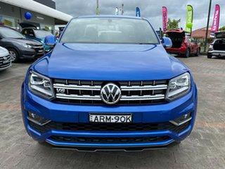 2018 Volkswagen Amarok TDI580 - Ultimate Blue Automatic Dual Cab Utility.