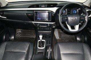 2018 Toyota Hilux GUN126R 4x4 Silver Sky 6 Speed Automatic Dual Cab