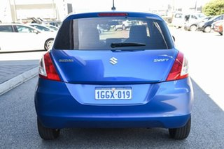 2015 Suzuki Swift FZ MY15 GL Navigator Blue 4 Speed Automatic Hatchback