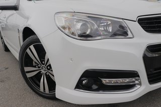 2014 Holden Commodore VF MY14 SV6 Storm Heron White 6 Speed Sports Automatic Sedan.