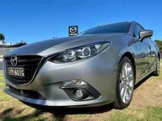 2015 Mazda 3 BM5438 SP25 SKYACTIV-Drive Aluminium 6 Speed Sports Automatic Hatchback.
