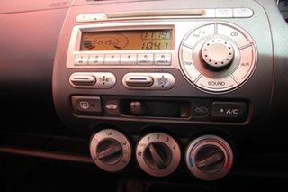 2007 Honda Jazz GD GLi White Nova 5 Speed Manual Hatchback