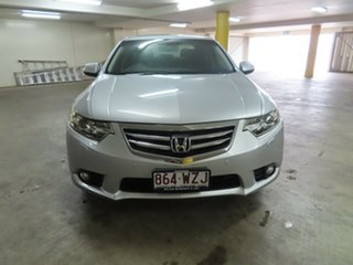 2012 Honda Accord Euro LUX NAVI Silver Automatic Sedan