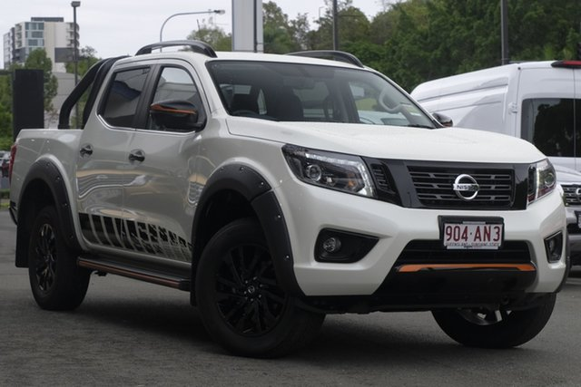 Demo Nissan Navara D23 Series 4 MY20 N-Trek Special Edition (4x4) Newstead, 2020 Nissan Navara D23 Series 4 MY20 N-Trek Special Edition (4x4) White Diamond 7 Speed Automatic
