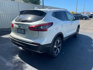 2019 Nissan Qashqai J11 Series 2 Ti X-tronic Ivory Pearl 1 Speed Constant Variable Wagon