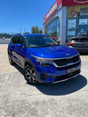 2020 Kia Seltos SP2 MY21 Sport+ 2WD Neptune Blue 1 Speed Constant Variable Wagon.