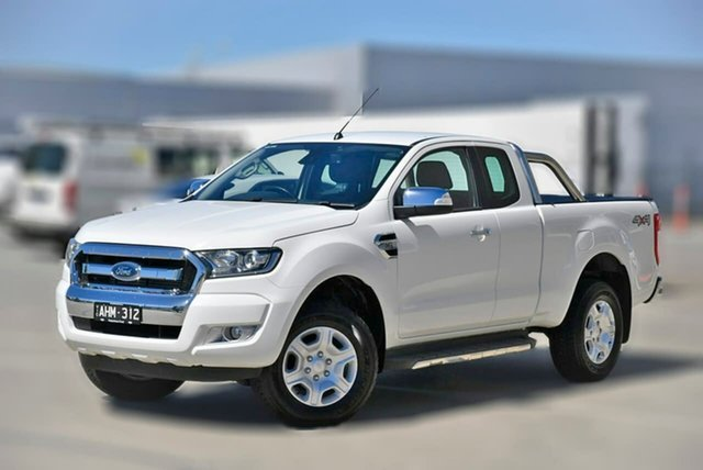 Used Ford Ranger PX MkII XLT Super Cab Pakenham, 2016 Ford Ranger PX MkII XLT Super Cab White 6 Speed Sports Automatic Utility
