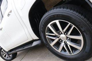 2017 Toyota Hilux GUN126R MY17 SR5 (4x4) Crystal Pearl 6 Speed Automatic Dual Cab Utility