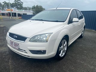 2006 Ford Focus LS Zetec White 4 Speed Sports Automatic Hatchback
