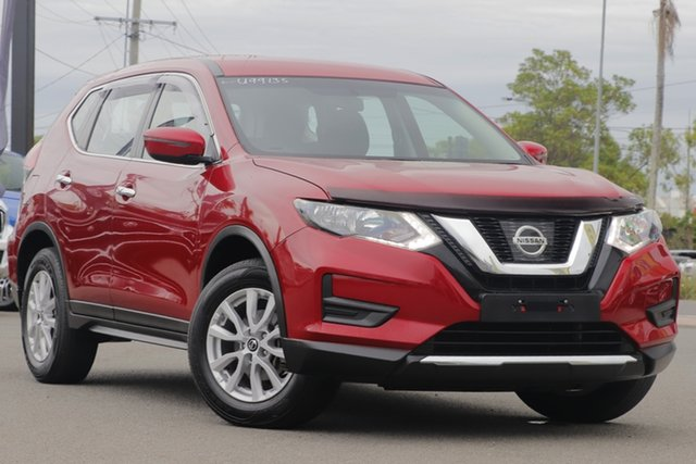 Used Nissan X-Trail T32 Series II ST X-tronic 2WD Rocklea, 2018 Nissan X-Trail T32 Series II ST X-tronic 2WD Ruby Red 7 Speed Constant Variable Wagon