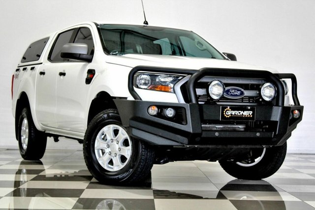 Used Ford Ranger PX MkII MY17 XLS 3.2 (4x4) Burleigh Heads, 2016 Ford Ranger PX MkII MY17 XLS 3.2 (4x4) White 6 Speed Automatic Double Cab Pick Up