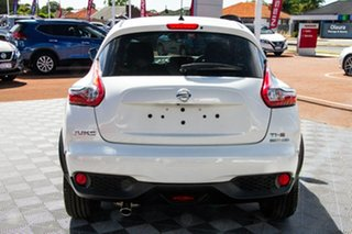 2019 Nissan Juke F15 MY18 Ti-S 2WD Ivory Pearl 6 Speed Manual Hatchback.