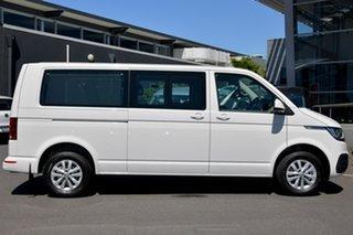 2020 Volkswagen Caravelle T6.1 MY21 TDI340 LWB DSG Trendline White 7 Speed.