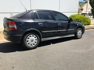 2004 Holden Astra TS MY04.5 Classic Black 5 Speed Manual Hatchback.