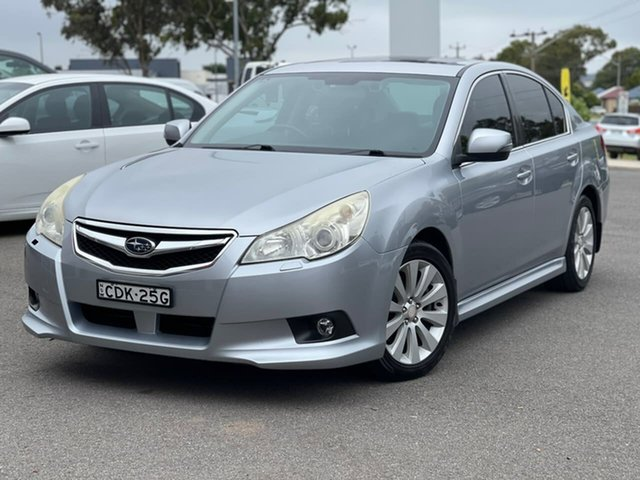Used Subaru Liberty Goulburn, 2011 Subaru Liberty 3.6R - Premium Silver Sports Automatic Sedan