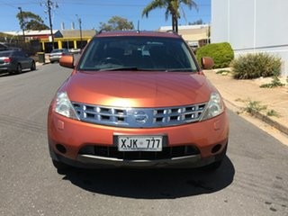 2005 Nissan Murano Z50 TI Orange 6 Speed Constant Variable Wagon