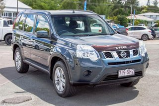 2012 Nissan X-Trail T31 Series V ST Tempest Blue 6 Speed Manual Wagon