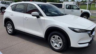 2017 Mazda CX-5 KF4WLA Maxx SKYACTIV-Drive i-ACTIV AWD White Pearl 6 Speed Sports Automatic Wagon.