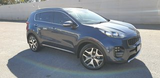 2017 Kia Sportage QL MY17 GT-Line AWD Blue 6 Speed Sports Automatic Wagon.