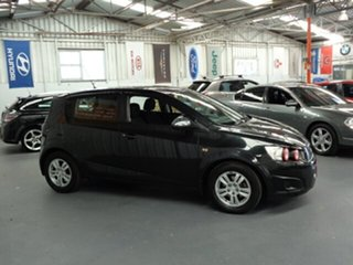 2011 Holden Barina TK MY11 Black 5 Speed Manual Hatchback