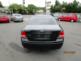 2003 Ford Falcon BA Futura Black 4 Speed Auto Seq Sportshift Sedan