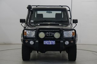 2014 Toyota Landcruiser VDJ79R MY13 GXL Grey 5 Speed Manual Cab Chassis.
