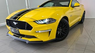 2018 Ford Mustang FN 2018MY GT Fastback SelectShift Yellow 10 Speed Sports Automatic Fastback.