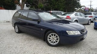 2003 Holden Commodore VY Equipe Blue 4 Speed Automatic Wagon.