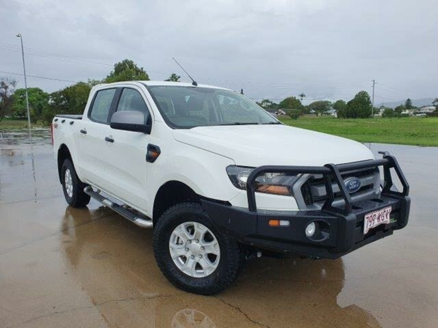 Used Ford Ranger PX MkII XLS Double Cab Townsville, 2015 Ford Ranger PX MkII XLS Double Cab Cool White 6 Speed Sports Automatic Utility