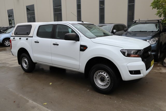 Used Ford Ranger PX MkII XL Hi-Rider Castle Hill, 2016 Ford Ranger PX MkII XL Hi-Rider White 6 Speed Sports Automatic Utility
