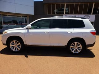 2012 Toyota Kluger GSU45R MY12 Altitude (4x4) 7 Seat Crystal Pearl 5 Speed Automatic Wagon.