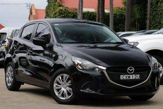 2015 Mazda 2 DJ Neo Black 6 Speed Automatic Hatchback.
