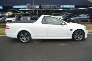 2011 Holden Commodore VE II SV6 Thunder White 6 Speed Automatic Utility.