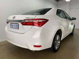 2014 Toyota Corolla ZRE172R SX White 7 Speed CVT Auto Sequential Sedan.
