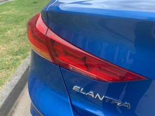 2017 Hyundai Elantra AD MY17 SR DCT Turbo Electric Blue 7 Speed Sports Automatic Dual Clutch Sedan